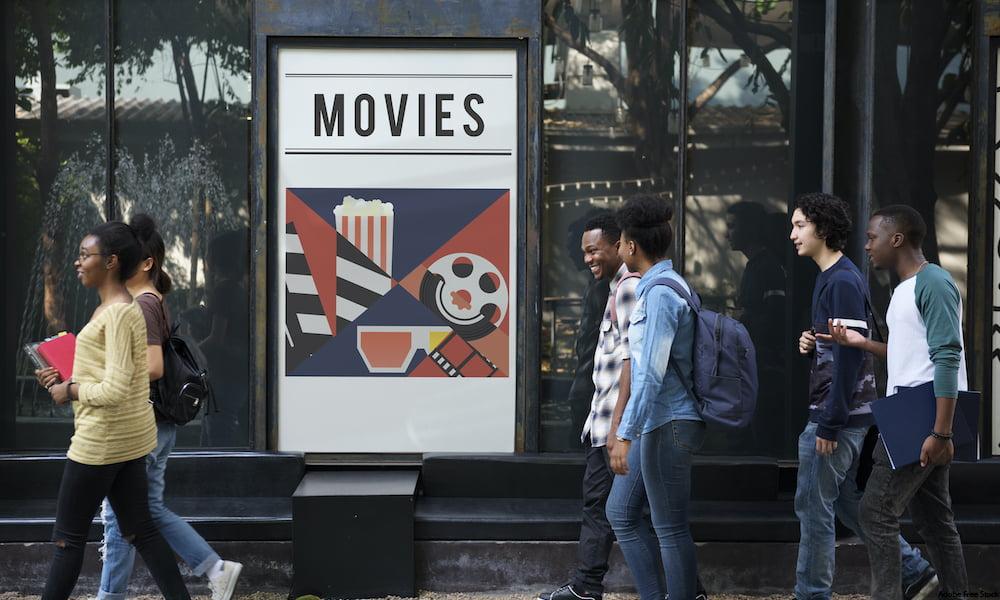 Movie sign